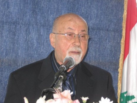 الدكتور الشيخ ابراهيم العاملي ينعي الدكتور يوسف مروة