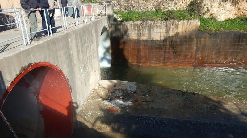 مياه القرعون ملوثة بجرثومة الايشيريشيا كولي وغير صالحة للري والشفة