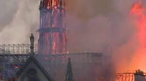ترميم فالكنيسة تحترق... كاتدرائية نوتردام في باريس