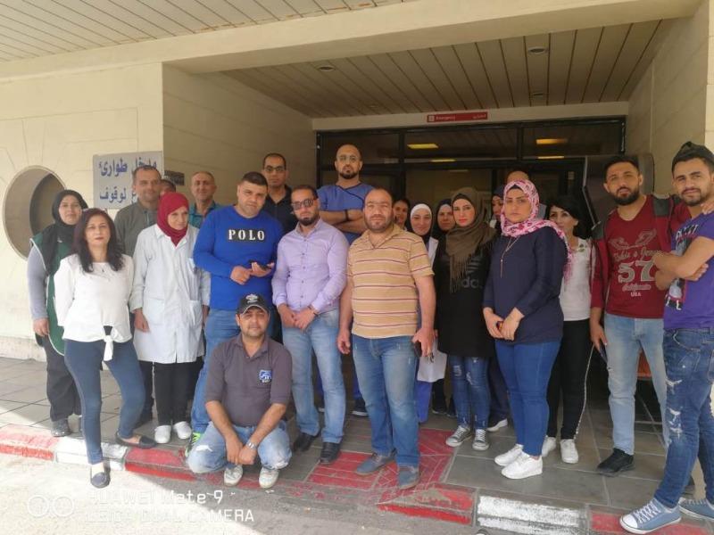 موظفو مستشفى صيدا الحكومي: لن نعمل حتى إيجاد الحلول لأزمة رواتبنا المتأخرة