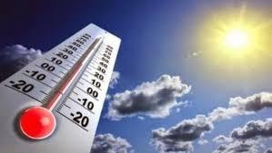 الحرارة فوق معدلاتها الموسمية