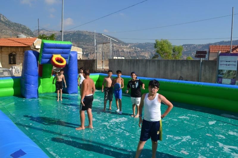 بين الألعاب والـkaraoke والرقص بكاسين زهت بـ250 طفلا