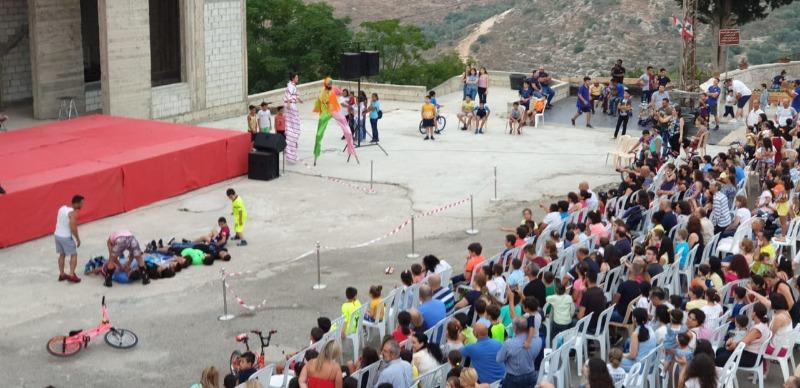أكثر من 1200 شخص من جزين وصيدا والزهراني في السيرك في لبعا