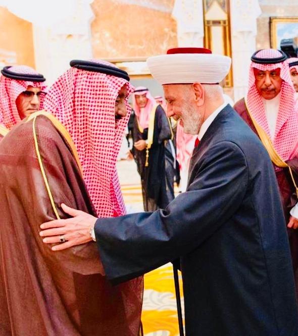 التقى بالملك سلمان... دريان: لبنان يشهد انفراجا سياسيا واقتصاديا