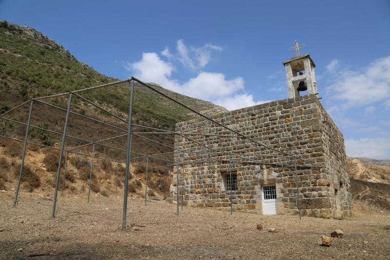 (بالفيديو) هكذا ظهرت طريق وكنيسة مار موسى... مرج بسري
