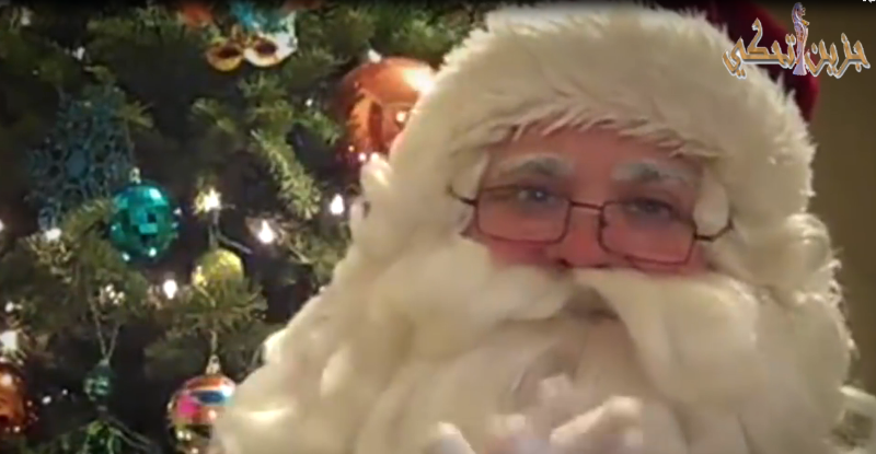 """(بالفيديو) """"جزين تحكي"""": مين بابا نويل؟"""