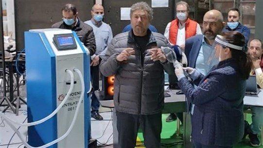 نموذج أوّل جهاز تنفس اصطناعي لبناني بمواصفات عالية