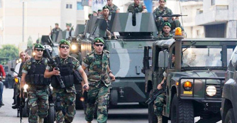الجيش أعاد فتح الطريق أمام محطة الأمانة طريق المطار