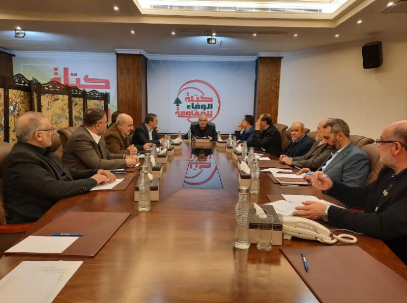 الوفاء للمقاومة: لحكومة تستجيب سريعا لمطالب اللبنانيين