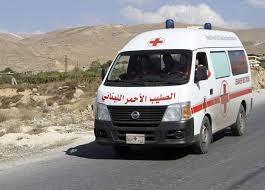 الصليب الأحمر ينقل 3 جرحى في حادث سير في صفاريه