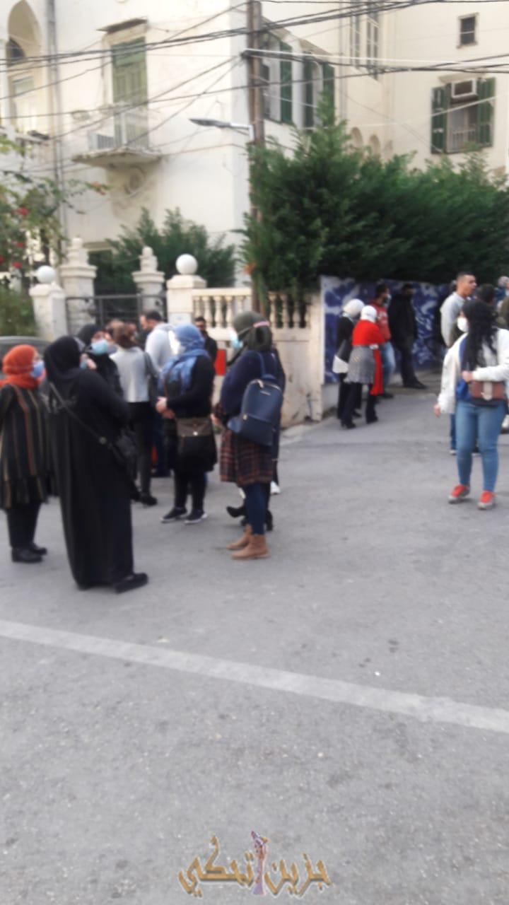 (بالفيديو) اعتصام موظفي لبنان الجنوبي في صيدا