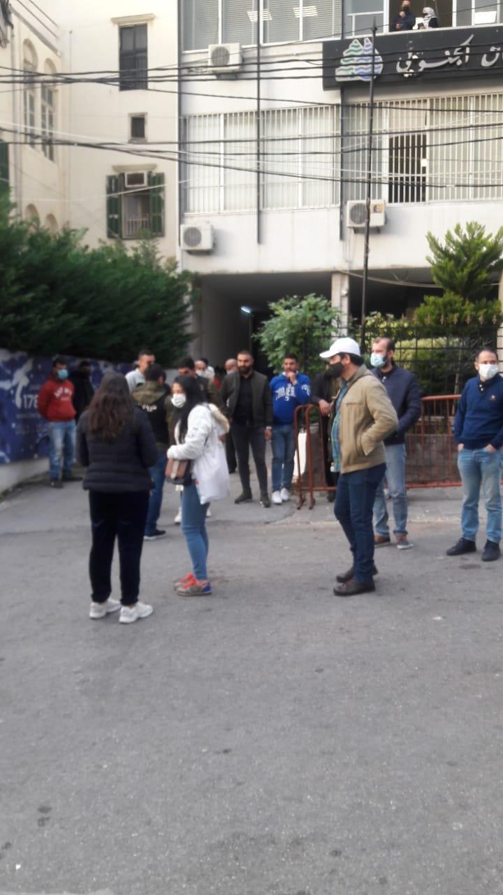 لليوم الثاني موظفو مياه لبنان الجنوبي يعتصمون في صيدا