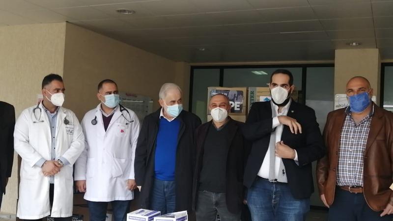 شاكرة أبو زيد ومؤسسة رينيه معوض... رابطة مخاتير جزين: اللقاح بدءا من الجمعة في مستشفى جزين
