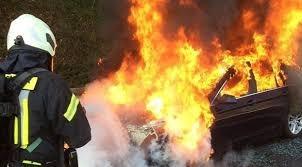 احراق سيارة مواطن في الحسانية