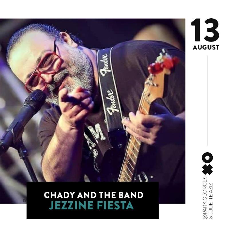13 آب CHADY AND THE BAND  في #JEZZINE_FIESTA