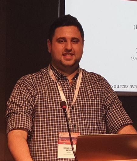وسام أنطون إبن روم يفوز بالمركز الاول في مسابقة الذكاء الإصطناعي للغة العربية