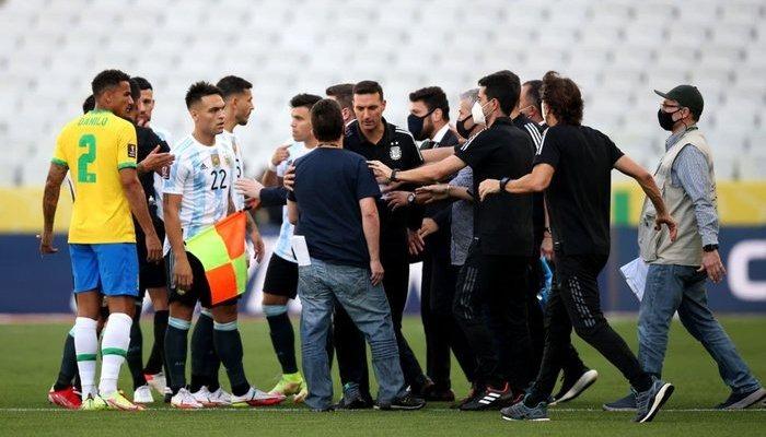 وزارة الصحة البرازيلية توقف مباراة البرازيل والارجنتين