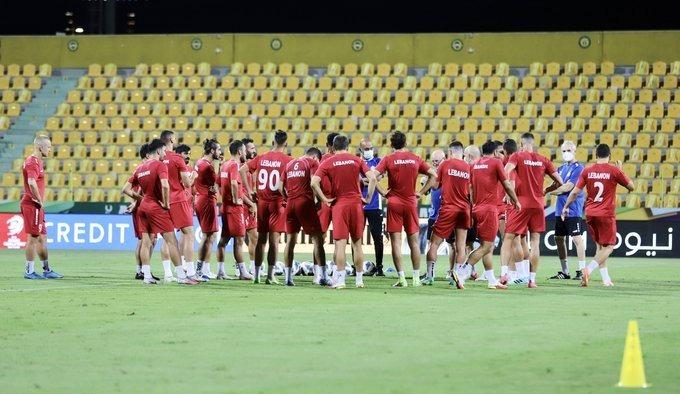 منتخب لبنان يستعد لكوريا الجنوبية