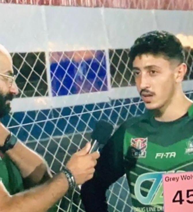 جرنايا تفتخر بابنها الياس أبي نجم ضمن منتخب لبنان للرغبي... بطولة غرب آسيا