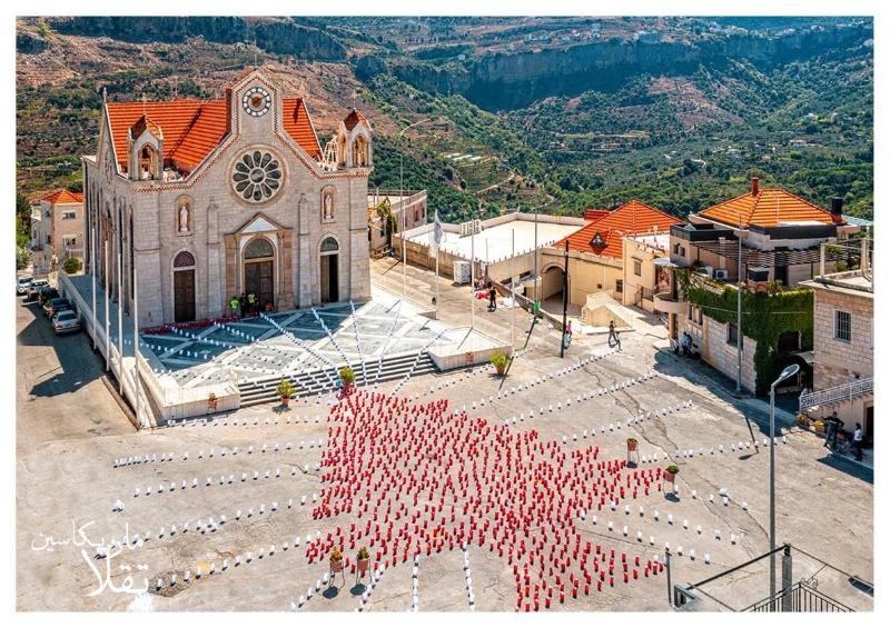 كنيسة وباحة بكاسين ستضاءان على نية لبنان بجهود شبيبة مارت تقلا الليلة